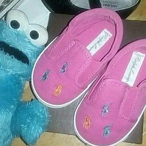 Ralph Lauren baby sneakers
